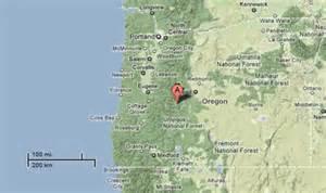 waldo lake oregon map sighting reports 2010