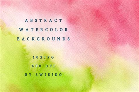 colorful ombre colorful watercolor ombre background graphic by swieja