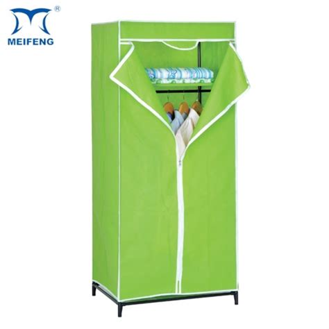 Foldable Wardrobe by Meifeng Fabric Covered Folding And Collapsible Wardrobe
