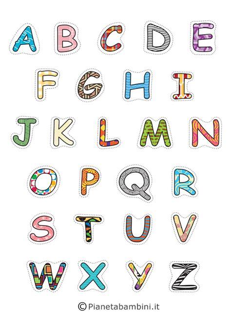 lettere alfabeto da stare lettere alfabeto maiuscole da stare 28 images le