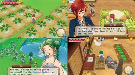 Kaset Harvest Moon 3d A New Beginning 3ds uk anime network reviews