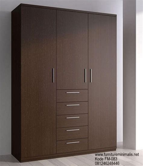 Pintu Panel Custom Coklat lemari pakaian minimalis sliding genasia places to visit