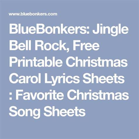 printable jingle bell rock lyrics 25 unique song sheet ideas on pinterest violin songs