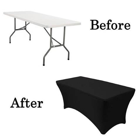 what size tablecloth for 6ft rectangular table 6ft 180cm black spandex rectangular tablecloth