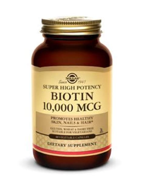 Biotin Also Search For Biotin 10 000 Mcg Vegetable Capsules Solgar Vitamins Minerals And Herbs