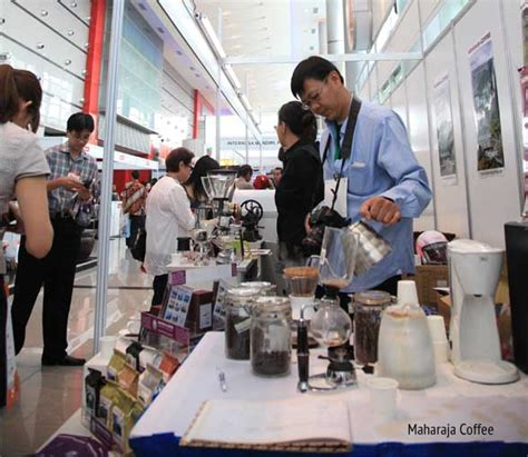 Mesin Kopi Toffin kopi di interfood 2011 cikopi