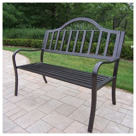 bench and bar oakland ca oakland living rochester bench in hammer tone bronze 6123 hb