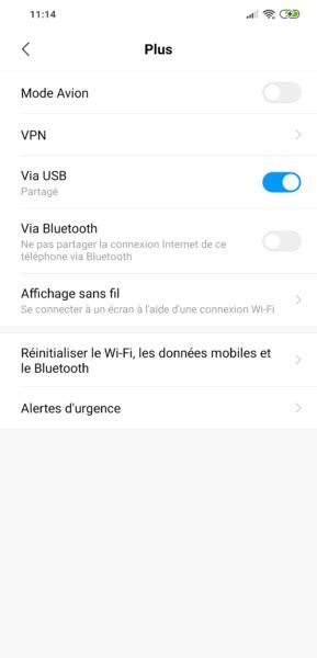 Partage de connexion Android : utiliser son smartphone en