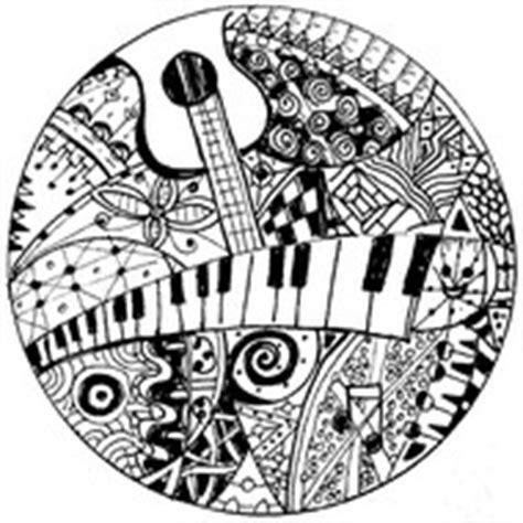 Colorear para adultos Musica