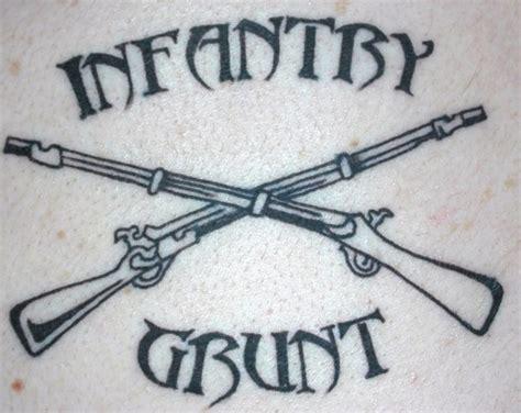 tattoo extreme carbine infantry army guns tattoo