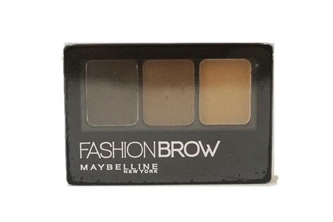 maybelline fashion brow 3d brow nose palette in light