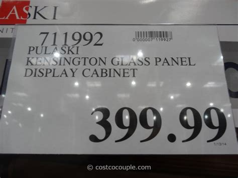 pulaski curio costco pulaski kensington display