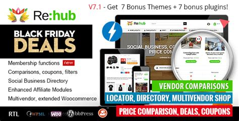 blogger store themes rehub v7 1 7 2 price comparison affiliate marketing
