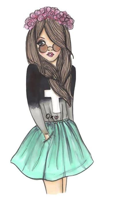 imagenes hipster girl m 225 s de 25 ideas incre 237 bles sobre dibujos h 237 pster en