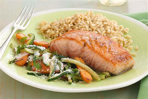 salmon dinner menu healthy living salmon dinner menu kraft recipes