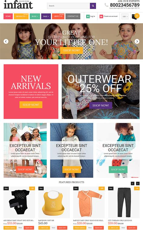 shopify themes toys 15 fresh templates themes for baby toys ecommerce