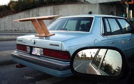 park bench spoiler spoilers make your car faster monkey review