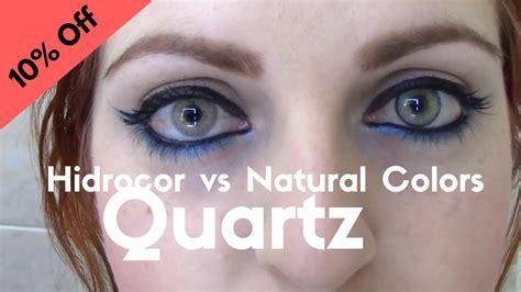 colors quartzo hidrocor vs colors quartz quartzo by solotica