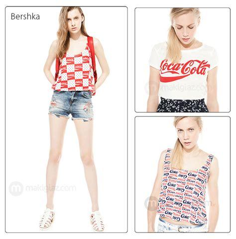 Bershka Tshirt Cola Cola coca cola by bershka article makigiazcom