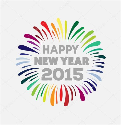 2015 happy new year vector happy new year 2015 vector stock vector