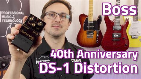 Ds 1 40th Anniversary ds 1 4a 40th anniversary distortion pedal demo