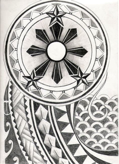 pinoy polynesian tattoo design best 25 tribal tattoos ideas on