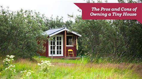 the pros and cons of owning a tiny house basic components