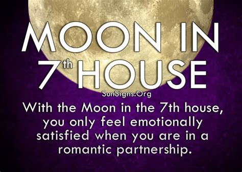 venus in the 7th house moon in 7th house meaning sun signs