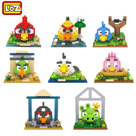 Loz Gift Large 9517 Bird Pink sale bird plastic bricks loz blocks building blocks kawaii brick