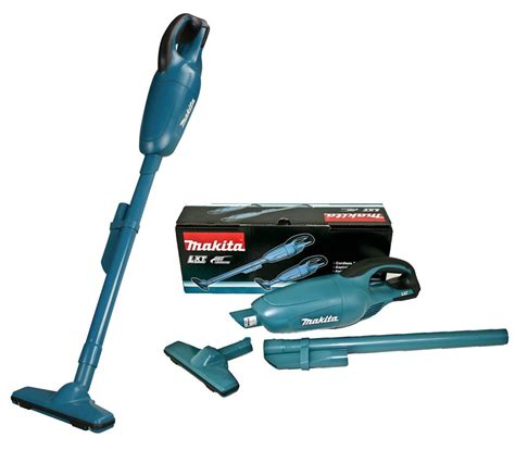 Makita Vaccum makita dcl180z 18v vacuum cleaner cordless lxt lithium ion bare unit complete with nozzle