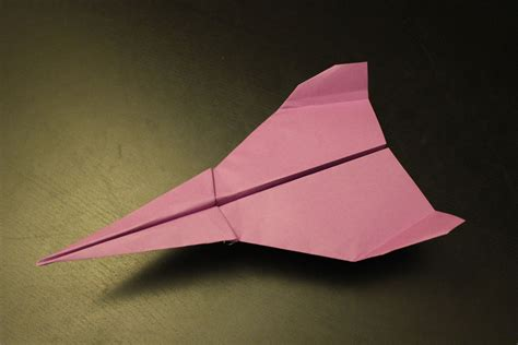 How To Make A Cool Paper Airplane That Flies Far - origami paper airplanes coloring pages