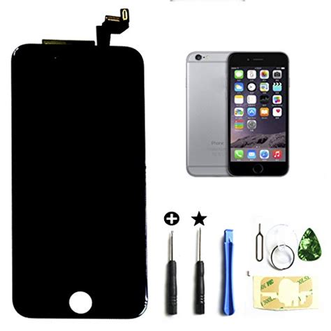 black iphone 6s 4 7 inch retina lcd touch screen digitizer glass replacement assembly with