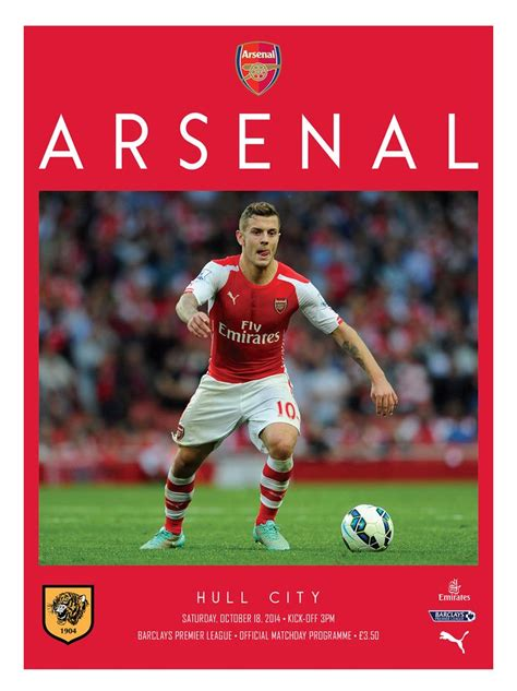 arsenal official 44 best images about arsenal matchday programme on