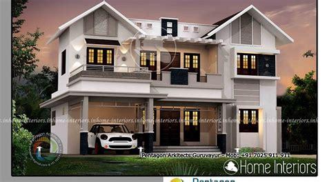 home designer pro square footage 2625 square feet double floor contemporary home design