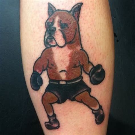 boxer dog tattoo boxer images designs