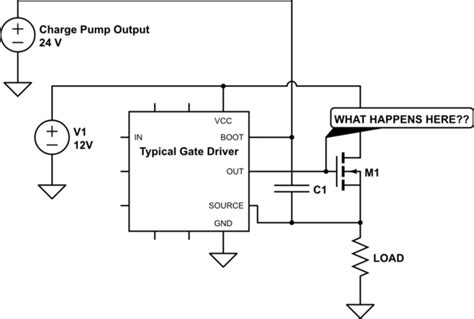 bootstrap capacitor charge mosfet is it safe to quot top up quot bootstrap capacitors using a charge electrical
