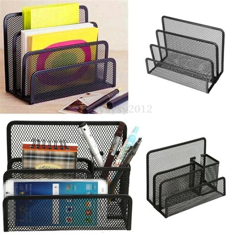 black mesh desk tray mesh letter sorter black mail document tray desk office