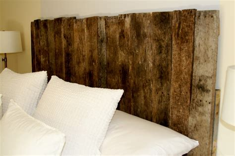 Wood Board Headboard by Sprig Pallet Headboard