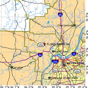 Floyds Knobs Indiana floyds knobs indiana in population data races housing economy