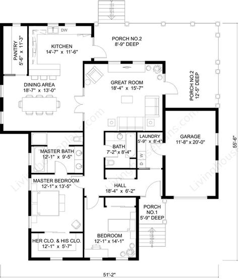 plan of a house open floor house plans living house plans