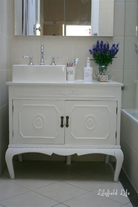 lilyfield turning vintage furniture into a bathroom