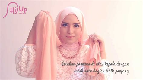 tutorial hijab pesta zahratul jannah hijab tutorial 62 quot enchanting beauty quot by zahratul jannah