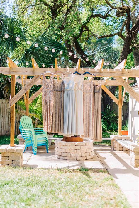 diy backyard weddings diy backyard wedding sanford florida