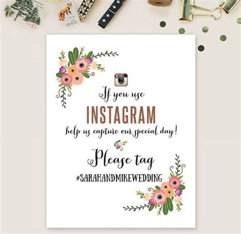 Wedding Hashtag Sign by How To Create A Wedding Hashtag Easy Weddings