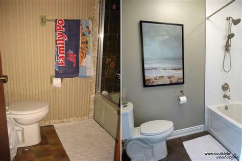 70s Bathroom Remodel by Remodelaholic Dramatic Bathroom Makeover