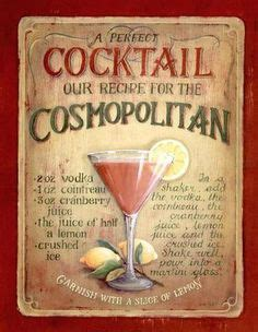 vintage cocktail posters cocktails and cocktail art on pinterest vintage