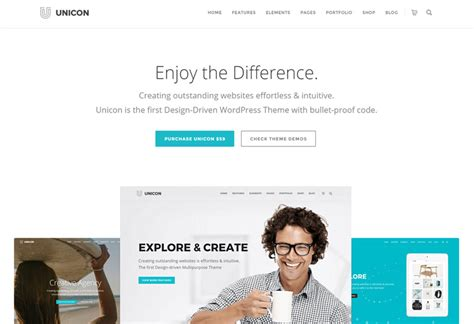 the galaxy design driven multipurpose wordpress theme unicon premium responsive design driven multipurpose
