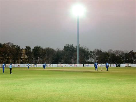 as ground 7 cricket ground with flood lights in hyderabad