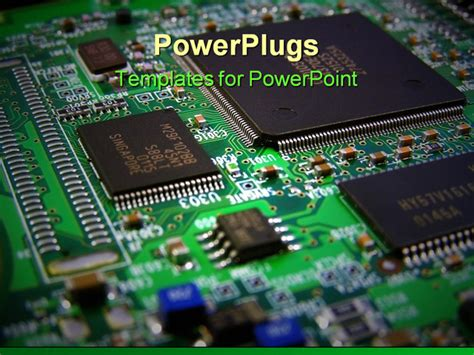circuit board template printed circuit board on a graphics card powerpoint