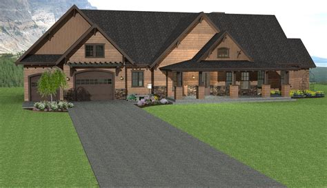 Rancher Home Plans by Mountain Cabin Plan Ranch House Plan Mountain Ranch